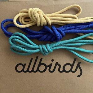 Set of 3 AllBirds NYC Limited Edition Shoelaces!